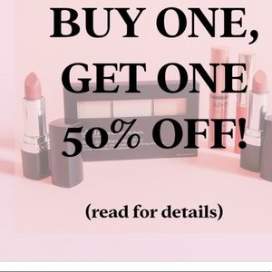Other - Buy one get a second item 50% OFF
